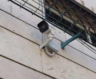 מצלמות אבטחה רחובות